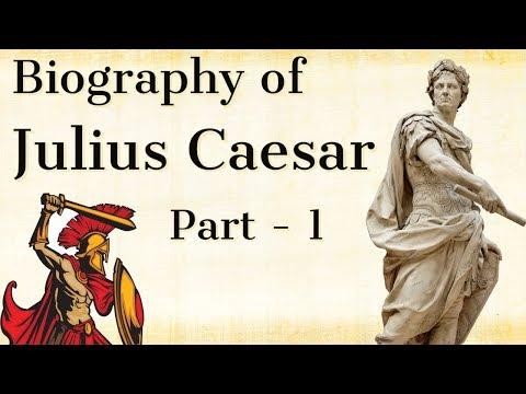 Biography of Julius Caesar Part 1 - Greatest ruler of ancient Rome - History of Gallic war & Rome