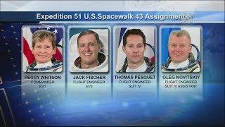 MDM Impossible: International Space Station U.S. EVA 43 (time lapse)