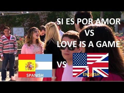 Violetta 2 - Si es por amor VS Love is a Game...