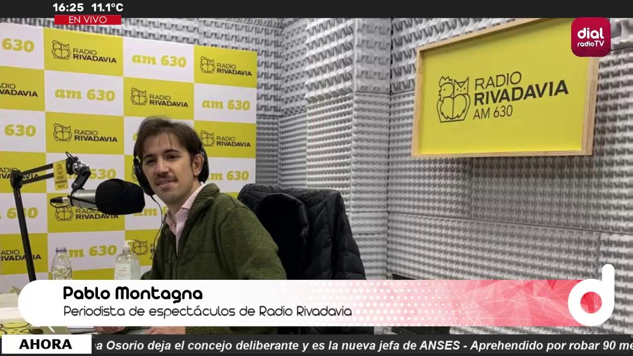 Pablo Montagna Periodista De Espectáculos De Radio Rivadavia Youtube