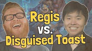 Regis vs. Disguised Toast - Pro Battles - Hearthstone