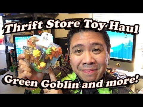Thrift Shop Toy Haul, Green Goblin and More January 15 2018