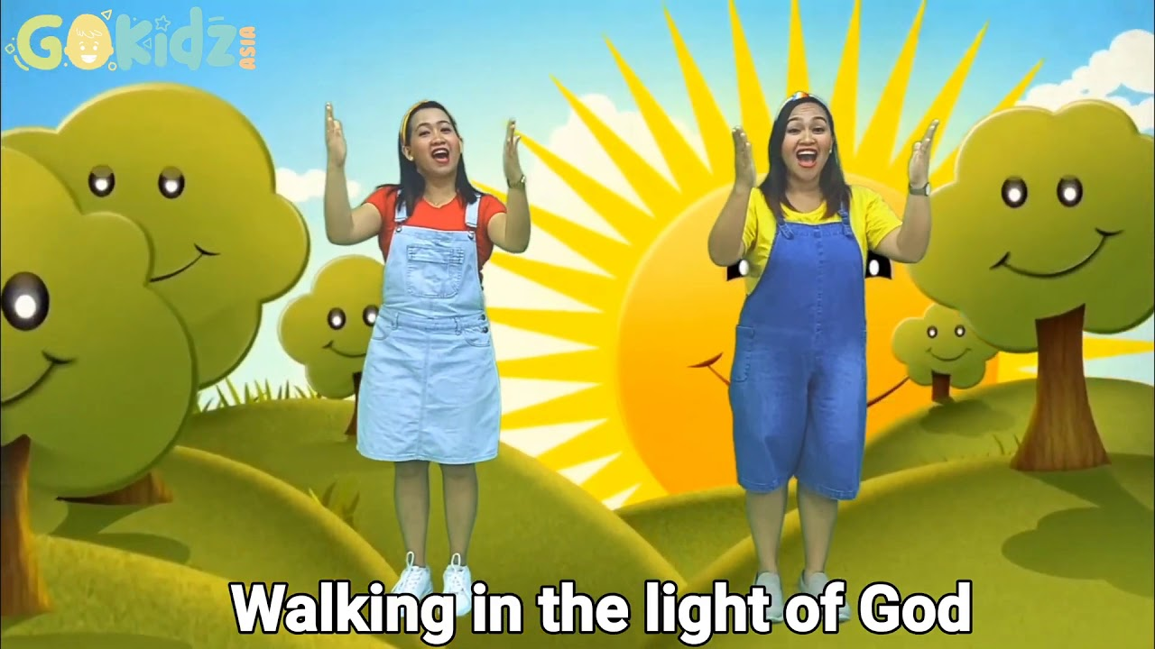 Download It's A Great Day Action Song   Dance and Sing along Kids praise song