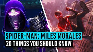 Marvel's Spider-Man Miles Morales | 20 Things You Need To Know