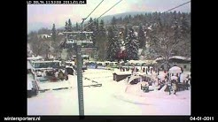 Harrachov webcam time lapse 2010-2011