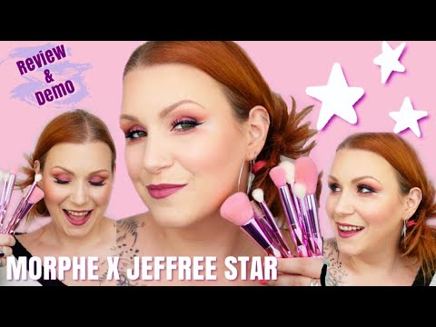 Testing *NEW* Morphe X Jeffree Star 'UK Sell Out' Makeup Brush Set - Review thumbnail