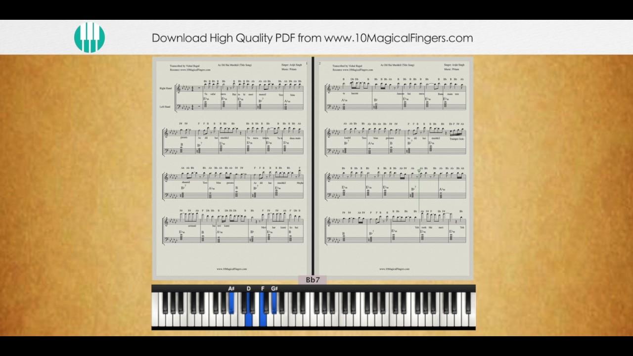 Piano Chords Pdf