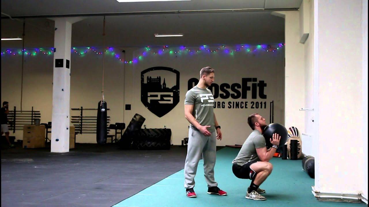 55816cb74 Wall Ball - Základy pre CrossFit #10 - YouTube