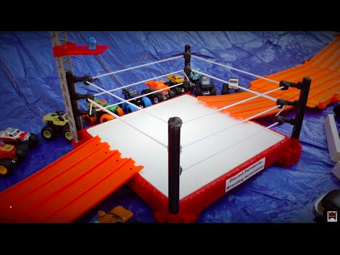 Hot Wheels Monster Truck Wrestling The D.D.W.A. show 2
