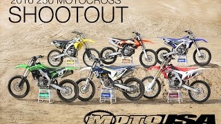 2016 250 Motocross Shootout - MotoUSA