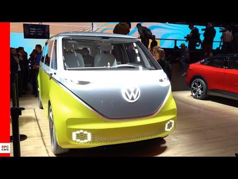 VW Booth at IAA Frankfurt Motor Show 2019 Volkswagen