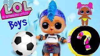 МАЛЬЧИК ЛОЛ! НОВИНКА КОНФЕТТИ ПОП 2 ВОЛНА! Boys LOL Wave2 #Куклы LOL Dolls Surprise