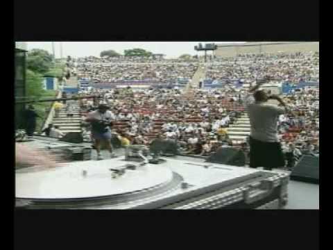 Warren G feat DJ Rectangle - Smokin' Me Out (HQ Live @ Summer Jam 97)