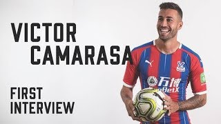 Victor Camarasa | First Interview as a Crystal Palace player