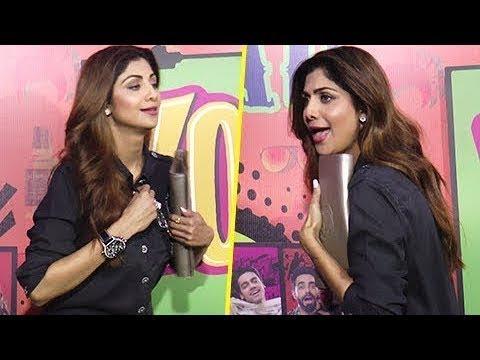 LOL!! Shilpa Shetty Opens Her Shirt's Button Publicly thumbnail