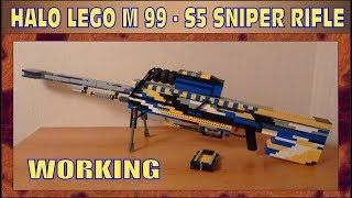 HALO | LEGO M 99 - S5 SNIPER RIFLE | WORKING