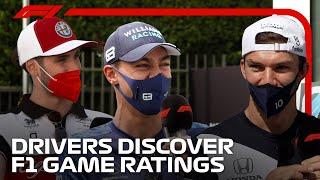 Drivers Guess Their Team Mates' F1 2021 Rankings