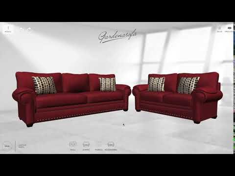 Oakland sofa loveseat