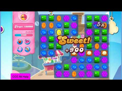 Candy Crush Saga Level 2940 NO BOOSTERS Cookie