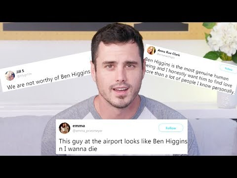 Bachelor Ben Higgins Reads the Most Dramatic Tweets Ever About Him