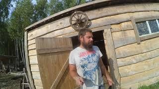 текущие дела // живность, стройка // жизнь на хуторе