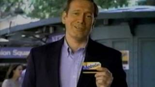 1997 MTA MetroCard Gold Commercial with George Elmer Pataki thumbnail