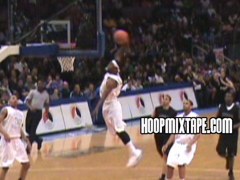 Michael Jordans Son Marcus With 2 Dunks At Jordan Classic