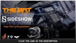 Video The Dark Knight Rises Hot Toys The Bat With Batman & Catwoman 1/12 Scale Deluxe Set Review download MP3, 3GP, MP4, WEBM, AVI, FLV Juli 2018