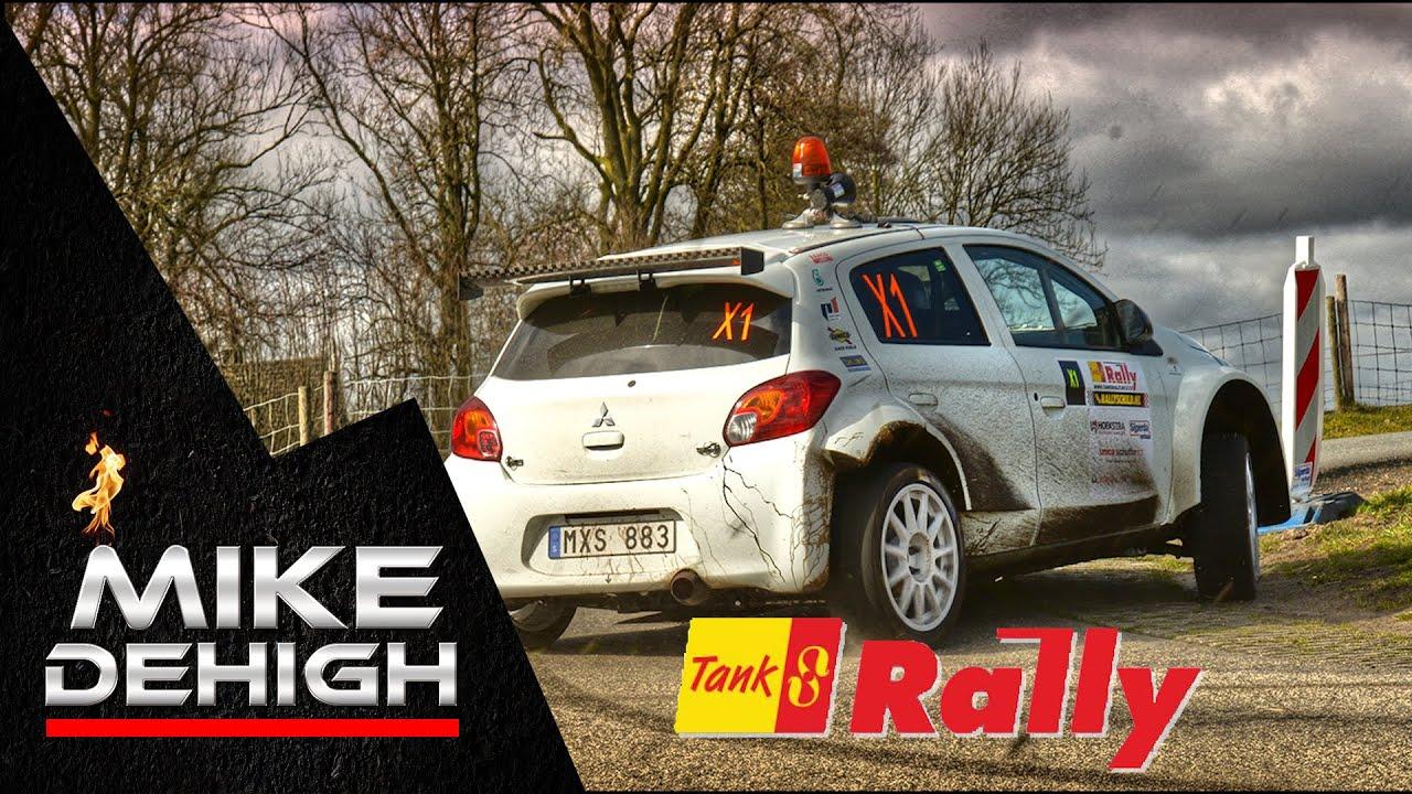 Tank S Rally 2015 MITSUBISHI MIRAGE R5 Testing Pure Sound ...