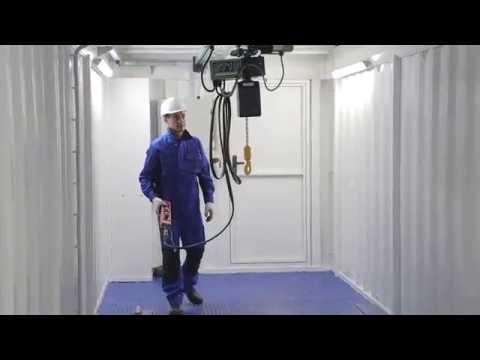 видео: Контейнер-склад с выдвижной платформой