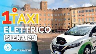PRIMO Tassista 100% Elettrico a Siena! Gianluca
