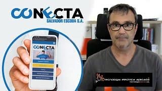 Instaladores probando CONECTA, la App de Salvador Escoda - Yago de Tecnología Eléctrica Aplicada