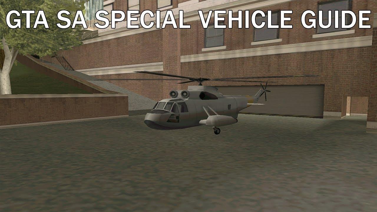 GTA SA Special Vehicle Guide: DP Leviathan