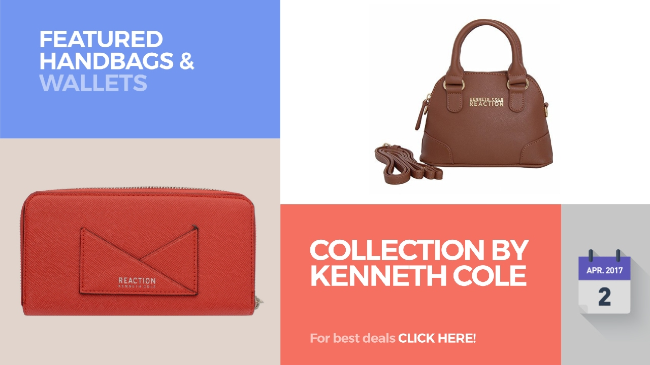 77db6fe40ebe Collection By Kenneth Cole Featured Handbags   Wallets - YouTube