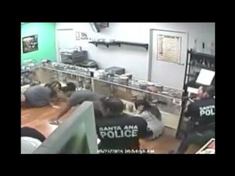 Santa Ana pot shop raid sparks investigation