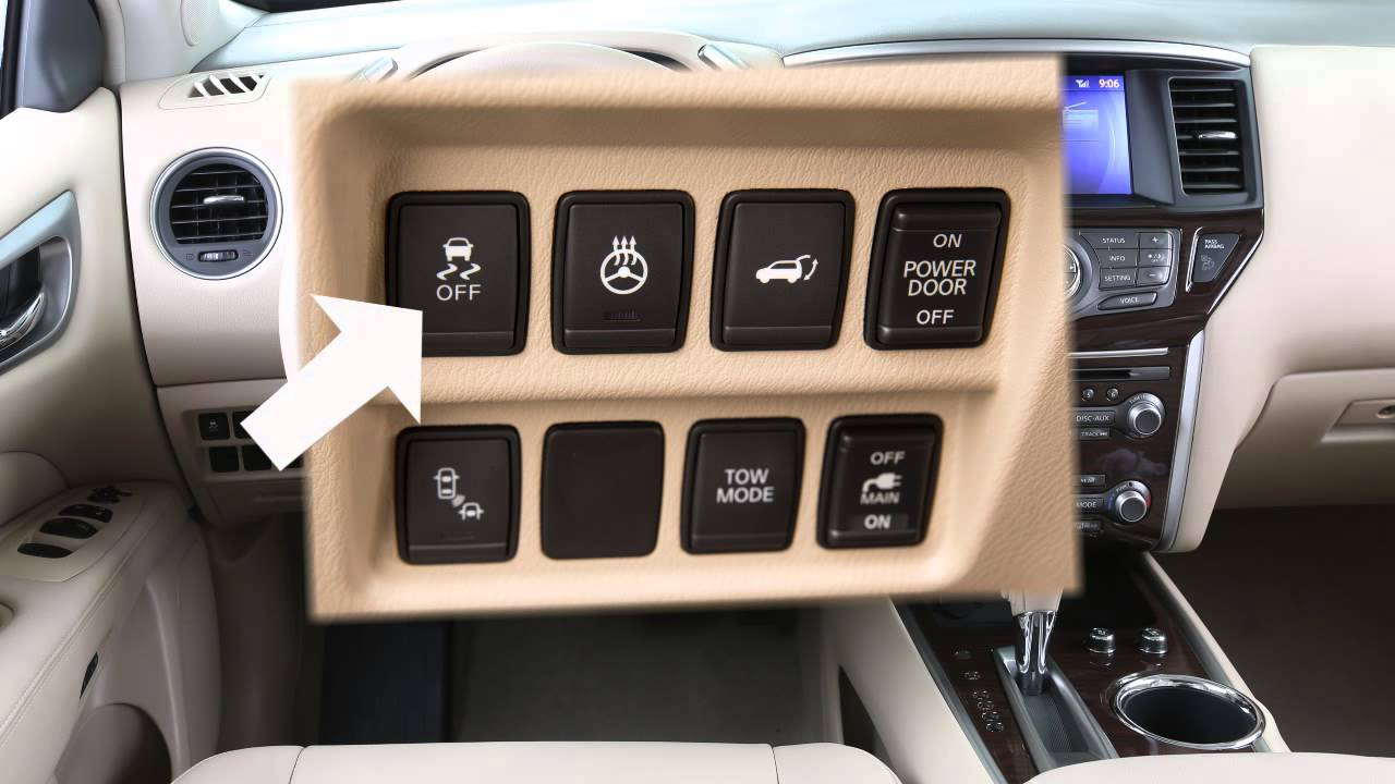 2015 Nissan Pathfinder Vehicle Dynamic Control Vdc