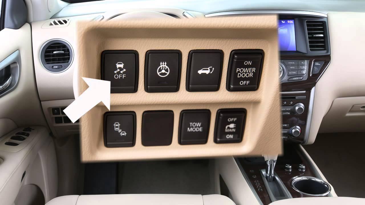 2015 Nissan Pathfinder Vehicle Dynamic Control Vdc