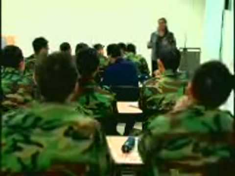 Teaching English to Republic of Korea Air Force members