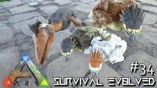 ARK: Survival Evolved - BREEDING LVL 200 ARGE & QUETZ !!! [Ep 34] (Server Gameplay)
