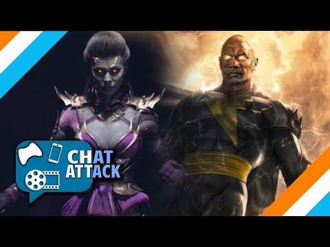 MK11 SINDEL GAMEPLAY // BLACK ADAM NEWS // THANOS STILL ALIVE?! – The Chat Attack