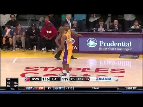 Kobe Bryant Injury Tears Achilles Tendon Against Golden State Warriors