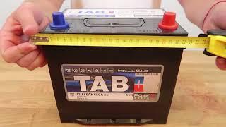 Автомобильный аккумулятор TAB POLAR S 65R: обзор аккумулятора
