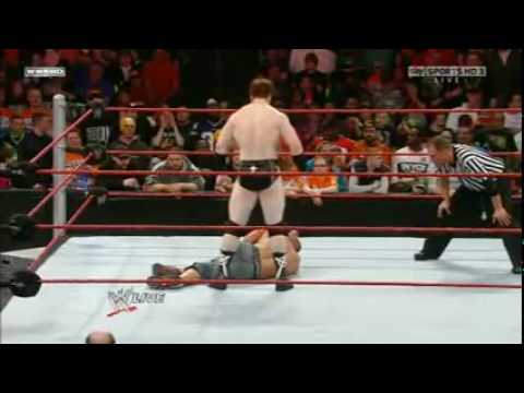 Wwe Raw  John Cena vs. Sheamus (5/21/2010)2/2