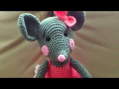 Амигуруми: схема Мышки.
