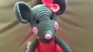 Амигуруми: схема Мышки. Игрушки вязаные крючком!