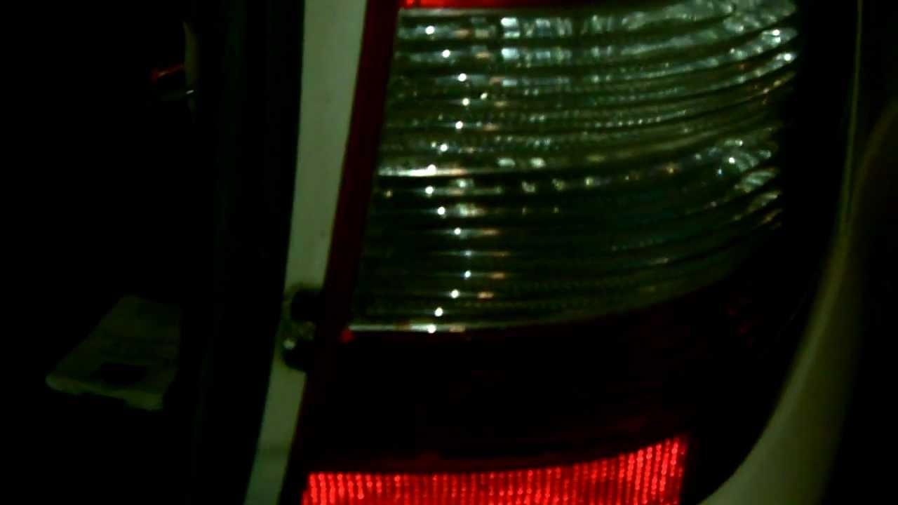 Big-benz.ru - Снимаем задний фонарь Mercedes ML w163