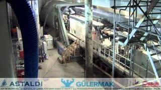 tbm epb anna preparations and drilling warsaw