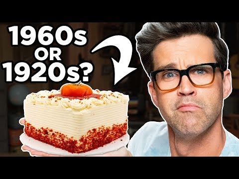 100 Years of Cake Taste Test