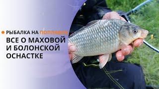 Рыбалка на поплавок. Все о маховой и болонской оснастке