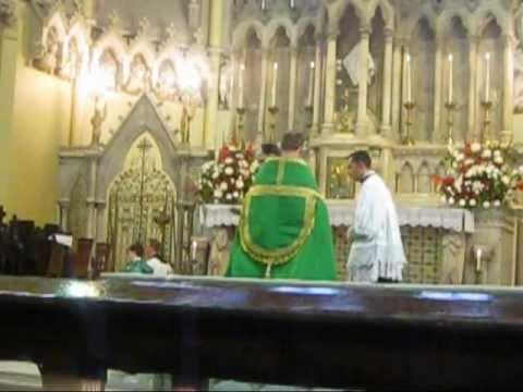Pontifical Vespers Day 1 for IV Fota Conference Cork